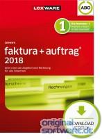 Lexware Faktura+Auftrag 2018 | Abo-Vertrag | Download