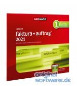 Lexware Faktura+Auftrag 2021   365 Tage Laufzeit   FFP (frustfreie Verpackung)
