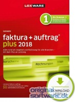 Lexware Faktura+Auftrag Plus 2018 | 365 Tage Laufzeit | Download