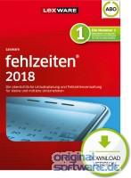 Lexware Fehlzeiten 2018 | Abo-Vertrag | Download