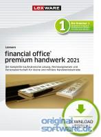 Lexware Financial Office Premium Handwerk 2021  365 Tage Laufzeit   Download