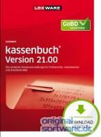 Lexware Kassenbuch 21.00 (2022) | 365 Tage Laufzeit | Download