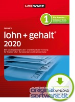 Lexware Lohn + Gehalt 2020 | 365 Tage Laufzeit | Download