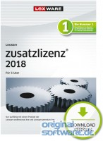 Lexware Pro|Premium 5 Nutzer Zusatzlizenz 2018 | 365 Tage Laufzeit