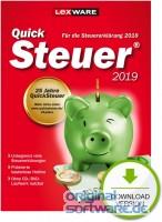 Lexware QuickSteuer 2019 | für die Steuererklärung 2018 | Download