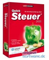 Lexware QuickSteuer 2021   für die Steuererklärung 2020   Minibox
