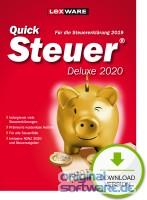 Lexware QuickSteuer Deluxe 2020   für die Steuererklärung 2019   Download