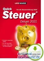 Lexware QuickSteuer Deluxe 2021   für die Steuererklärung 2020   Download