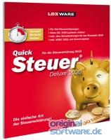 Lexware QuickSteuer Deluxe 2021   für die Steuererklärung 2020   FFP (frustfreie Verpackung)