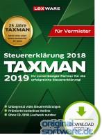 Lexware Taxman 2019 für Vermieter   Download   Steuererklärung 2018