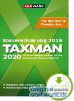 Lexware Taxman 2020 für Rentner und Pensionäre | Download | Steuererklärung 2019