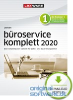 Lexware büroservice komplett 2020 | Abonnement | Download | Einzelplatzlizenz