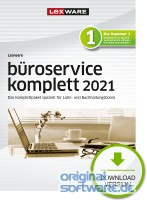 Lexware büroservice komplett 2021 | Abonnement | Download | Mehrplatzlizenz