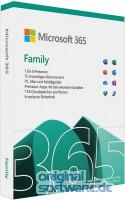 Microsoft  365 Family   1 Jahres-Lizenz   6 Benutzer   Box-Pack