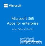 Microsoft 365 Apps for Enterprise | 1 Jahr Abonnement | Open Lizenz