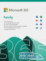 Microsoft 365 Family | 1 Jahres-Lizenz | 6 Nutzer | Download