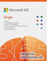 Microsoft 365 Single | 1 Jahres-Lizenz | 1 Nutzer | Download