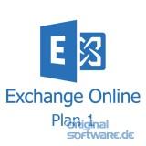Microsoft Exchange Online Plan 1   1 Jahr Abo   Open Lizenz