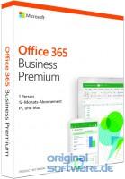 Microsoft Office 365 Business Premium | Aktivierungskarte | Deutsch