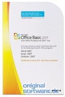 Microsoft Office Basic 2007 | MLK Version | Deutsch