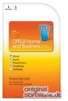 Microsoft Office Home & Business 2010 | PKC Version | Deutsch