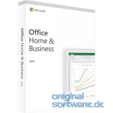 Microsoft Office Home & Business 2019 | 1 PC oder MAC | Dauerlizenz | Box-Pack | Euro-Zone