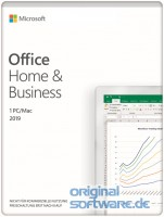 Microsoft Office Home & Business 2019 | 1 PC oder MAC | Dauerlizenz | Download