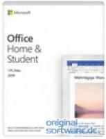 Microsoft Office Home & Student 2019 | 1 PC/MAC | Dauerlizenz | Download