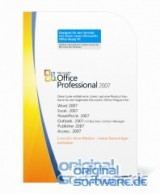 Microsoft Office Professional 2007 | MLK Version | Deutsch