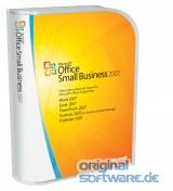 Microsoft Office Small Business 2007 | CD Retail Box | Deutsch