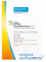 Microsoft Office Small Business 2007   MLK Version   Deutsch
