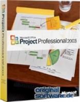 Microsoft Project 2003 Professional   CD Version   Deutsch