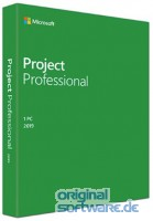 Microsoft Project Professional 2019 | Produkt Key Card | Deutsch