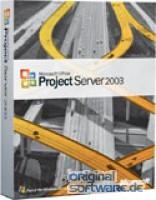 Microsoft Project Server 2003 + 5 CAL | CD Version | Deutsch