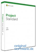 Microsoft Project Standard 2019 | Produkt Key Card | Deutsch