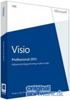 Microsoft Visio Professional 2013 | Produkt Key Card