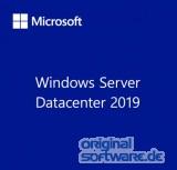 Microsoft Windows Server 2019 Datacenter | 16 Core | DVD | OEM | Deutsch