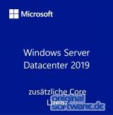 Microsoft Windows Server Datacenter 2019 | 16 Core | Add License | OEM | Deutsch