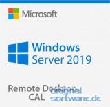 Microsoft Windows Server RDS CAL 2019 | 1 Nutzer CAL | Multilingual | Open Lizenz