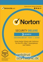 Norton Security Deluxe | 3 Geräte | 1 Jahr | Download