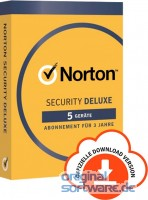 Norton Security Deluxe | 5 Geräte | 3 Jahre | Download