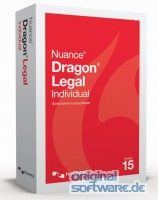 Nuance Dragon Legal Individual 15 | DVD Version | Upgrade