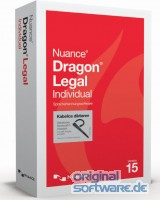 Nuance Dragon Legal Individual 15 | DVD Version | Wireless