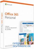 Office 365 Personal 1 PC|Mac+1 Tablet 1-Jahres-Lizenz|Produkt Key Card