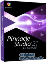 Pinnacle Studio 21 Ultimate | DVD + grünes Tuch | Tagesspecial