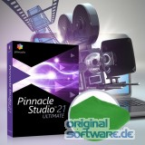 Pinnacle Studio 21 Ultimate | DVD + grünes Tuch