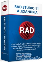 RAD Studio 11 Alexandria Enterprise   unbefristete Lizenz   Upgrade + 1 Jahr Wartung