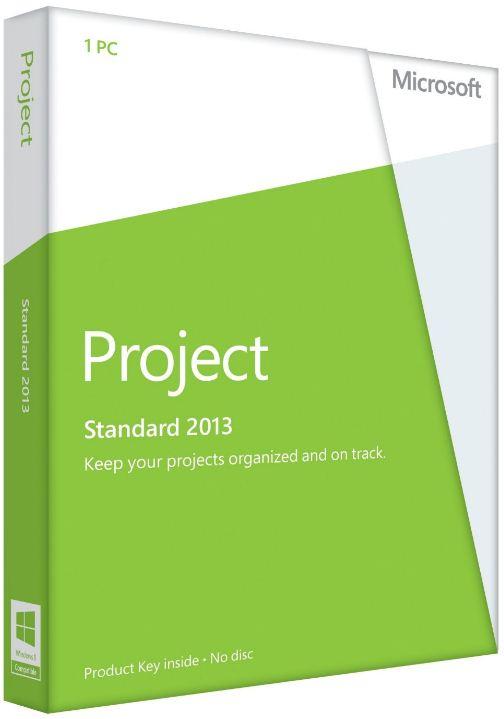 Microsoft Project Standard 2013 / Download / Deutsch AAA-02050