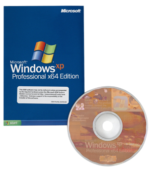 Microsoft Windows XP x64 Edition OEM/OSB-Version