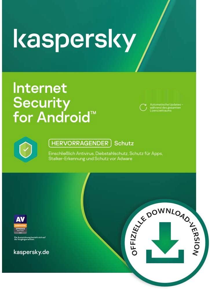 Kaspersky Lab Internet Security for Android / 3 Geräte /1 Jahr Verlängerung